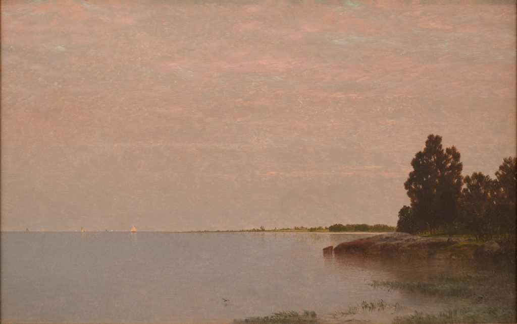 Long Neck Point from Contentment Island by John Frederick Kensett